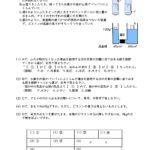 気圧と水圧に関する問題