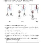 滑車と輪軸の計算